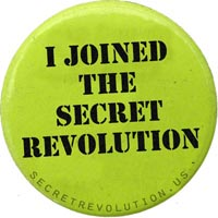 secret revolution badge